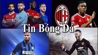 Tin bóng đá |Chuyển nhượng|14/08/2018: TOP 5 vua phá lưới NH Anh,Tăng lương De Gea,Milan mua Martial