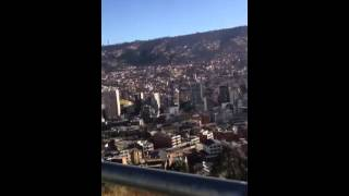 preview picture of video 'View on the top of Lapaz city'