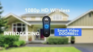 Introducing Night Owl's 1080p HD Wireless Smart Video Doorbell