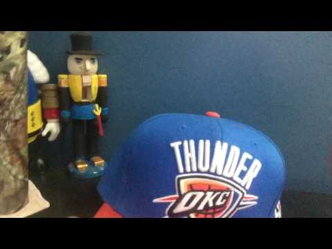 All Of My Hats | Oklahoma City thunder hat Michigan wolverines hat and diamond hat