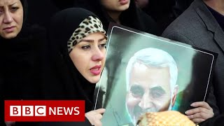 Millions turn out in Iran for General Soleimani's funeral - BBC News