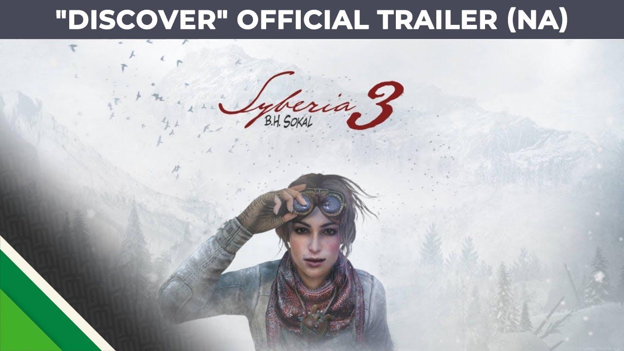 "Syberia 3 - ""Discover"" - official trailer - ESRB version"