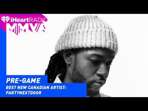 Party Next Door Wins Best New Canadian Artist | 2017 iHeartRadio MMVAs