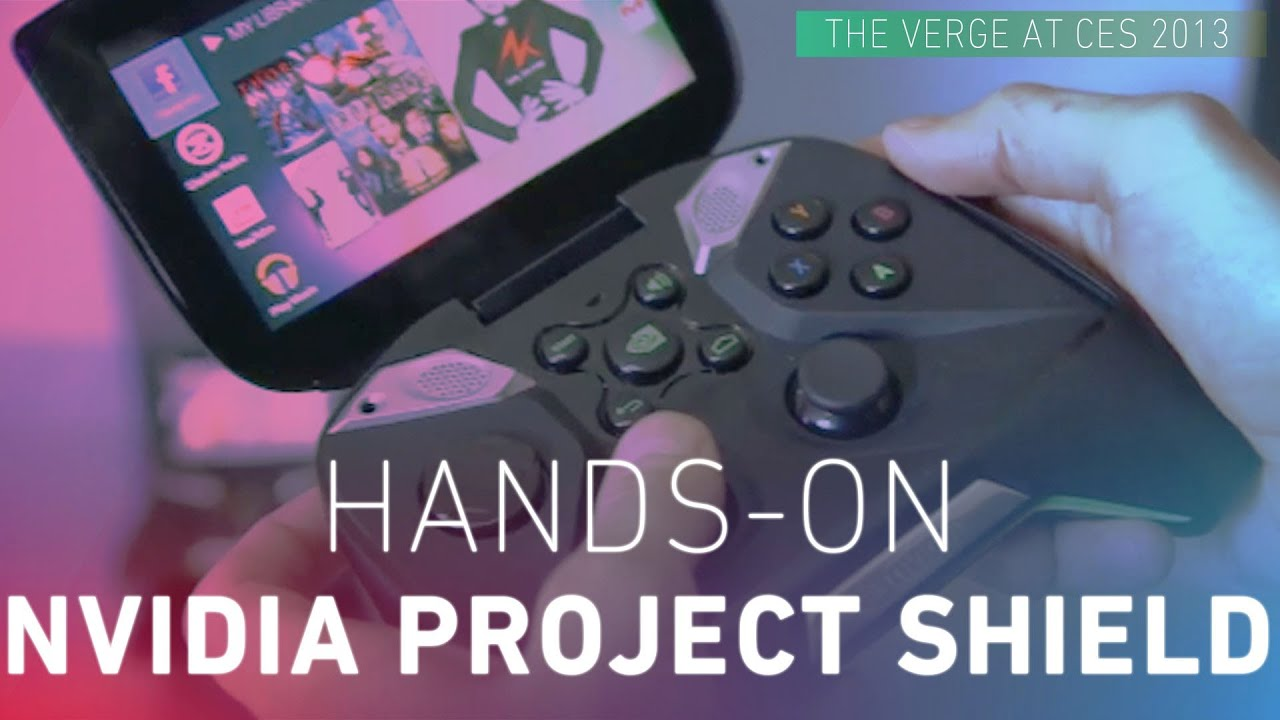 Nvidia Project Shield Hands-on thumbnail