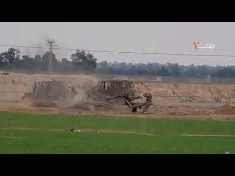 ראשוני: מחבלים מעזה ירו על דחפור צבאי