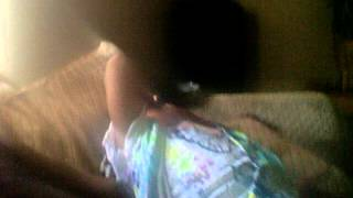 my 3 year old baby girl crying over ray ray ( mindless behavior)