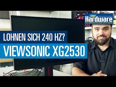 Lohnen sich 240 Hz?  Viewsonic XG2530 im Test