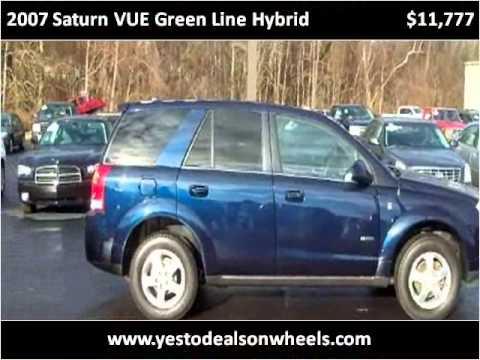 2007 Saturn VUE Green Line Hybrid Call 269-925-DEALS (3325) Benton Harbor Mi