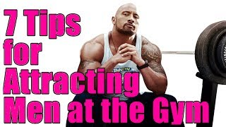 💪 BEST ADVICE How Women Can Attract Attention from Men (OR GYM CRUSH) at the Gym 💪