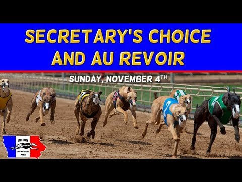 Iowa Greyhound Park Au Revior 2018