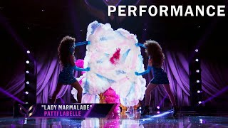 """Flamingo sings """"Lady Marmalade"""" by Patti Labelle 