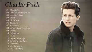 Charlie Puth Greatest Hits Playlist   Best Songs Of Charlie Puth