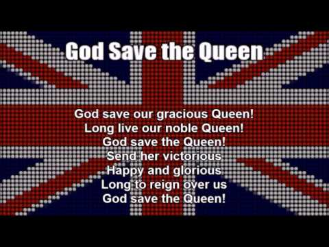 National Anthems Of The United Kingdom And France (Nightcore Style With Lyrics)