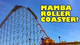 Mamba Roller Coaster Front Seat POV Worlds of Fun Kansas City MO
