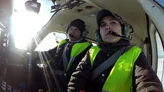 preview picture of video 'Полеты на Tecnam P2006T. GoPro'