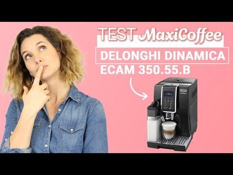 Delonghi Dinamica ECAM 350.55.B | Machine à café automatique | Le Test MaxiCoffee