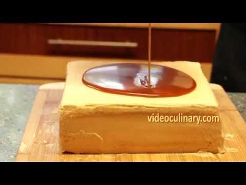 Video Caramel Glaze for Cakes - Recipe by VideoCulinary.com