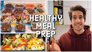 Healthy MEAL PREP for College Students (cook with me!) | KharmaMedic