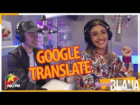 "MONOIR si ALINA EREMIA canta ""Freeze"", varianta Google Translate   #DimineataBlana"