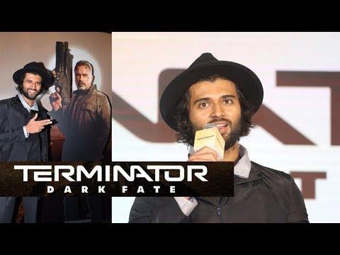 vijay-deverakonda-about-terminator-dark-fate-and-trailer