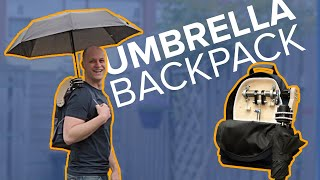 The automatic opening umbrella backpack - How I made it