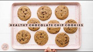 Best Healthy Chocolate Chip Cookies EVER! 🍪  Vegan + Gluten Free