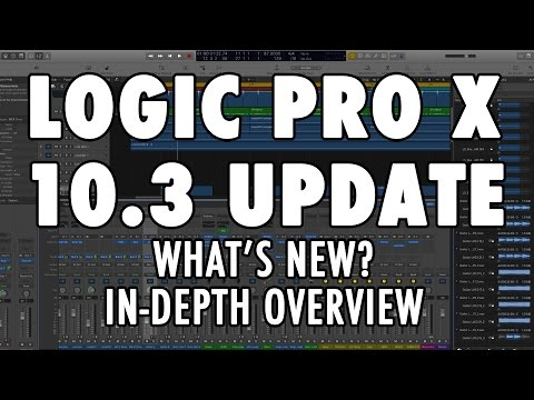 LOGIC PRO X 10.3 UPDATE – What's New? An In-Depth Overview of New Features and Interface!