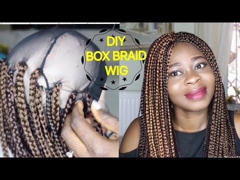 DIY BRAIDED CROCHET BOX BRAID WIG (2 WAYS)