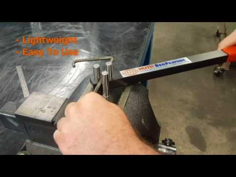 "EASY Solution For Bending Up To 3/8"" Rod Or Up To 1/4"" X 1"" Flat Stock Brackets: Manual Rod Bender Mp3"