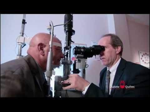 L'examen de la vue et le diabète
