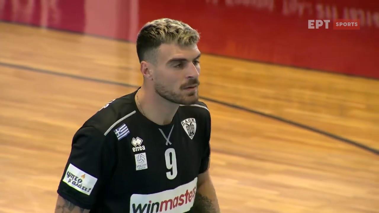 Volley League | Κηφισιά – Πάοκ | 28/02/2021 | ΕΡΤ