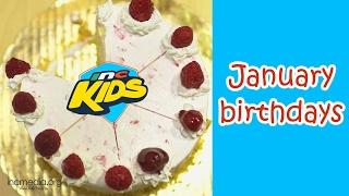 INC Kids January Birthdays