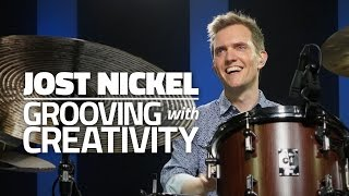 Jost Nickel - Grooving With Creativity (FULL DRUM LESSON)