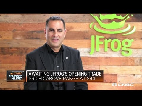 JFrog CEO on the company's public debut and outlook