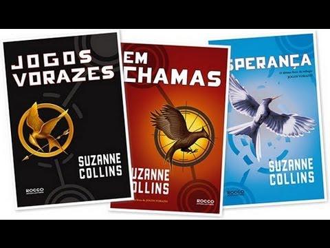 #12 LivroResenha - Trilogia Jogos Vorazes