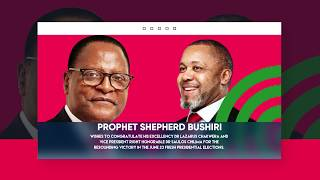 Prophet Shepherd Bushiri Congratulates His Excellency Dr Lazarus Chakwera, The President of Malawi🇲🇼