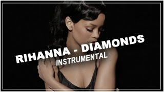 Gambar cover Rihanna - Diamonds - Piano acoustic instrumental / Karaoke / Lyrics