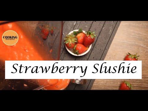 Strawberry Slushie Recipe by In Food Studio