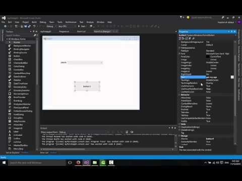 تعلم برمجة سي شارب الدرس 6 | اداة Windows Form in c# combobox