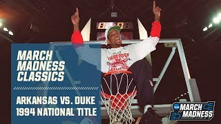 Arkansas Vs. Duke: 1994 National Championship | FULL GAME