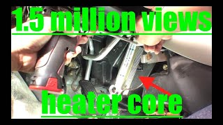 Diagnose Replace Heater Core '01-'06 Toyota Camry √ Fix it Angel