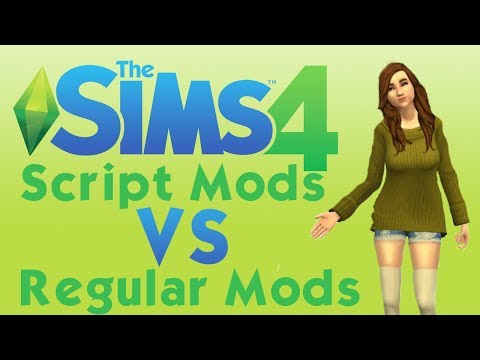The Sims 4 | How to Install Script Mods VS Regular Mods
