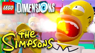 THE SIMPSONS Level Pack! LEGO Dimensions - Gameplay Walkthrough Part 17 (PS4, Xbox One)