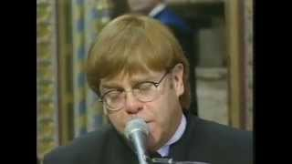 Elton John - Candle In The Wind Goodbye England's Rose  At Princess Diana's Funeral - 1997