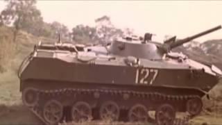 BMD-1 Soviet airborne amphibious infantry combat vehicle (vid 2)