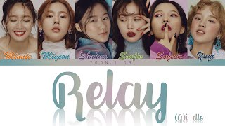 (G)I-DLE (여자)아이들 - Relay (달려!) Lyrics [Color Coded Han/Rom/Eng]