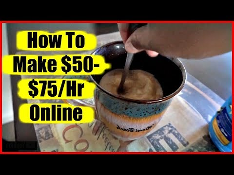 "(2018) Easiest Way To Make Money Online  ""How To Make Paypal Money Online Fast""  $8,000 In 1 Week"
