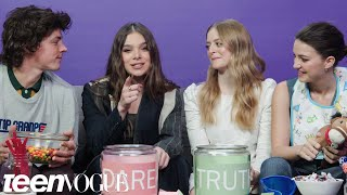 Hailee Steinfeld and The Cast of Dickinson Play I Dare You | Teen Vogue