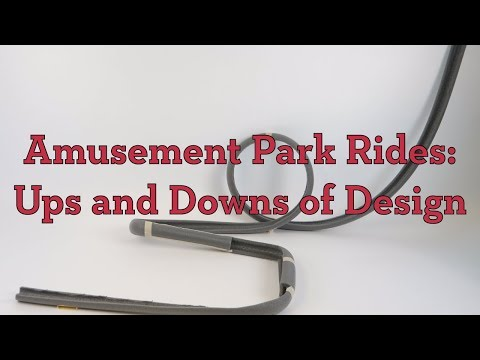 Amusement Park Ride Ups And Downs In Design Activity