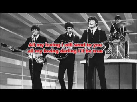 THE BEATLES カラオケ All my loving
